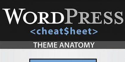 The Ultimate WordPress Cheatsheet – Infographic
