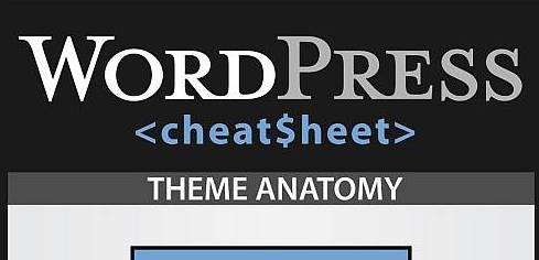 The Ultimate WordPress Cheatsheet - Infographic