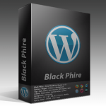 Black Phire - Free WordPress theme