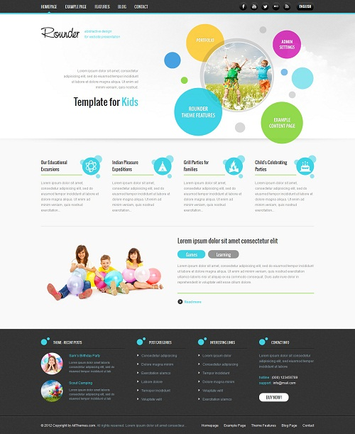 Rounder: Multi – Purpose Adaptive WordPress Theme