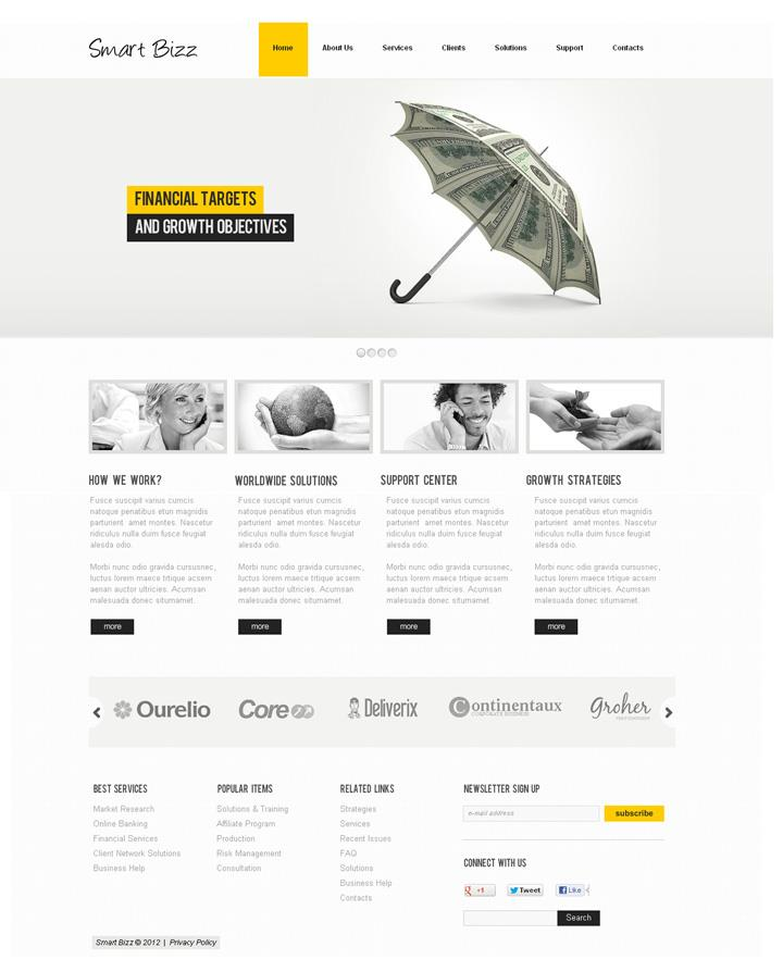 Motocms Flash Website Templates 03 Phire Base V 7