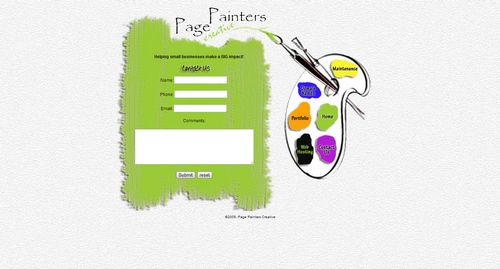 PAGE PAINTERS CREATIVE