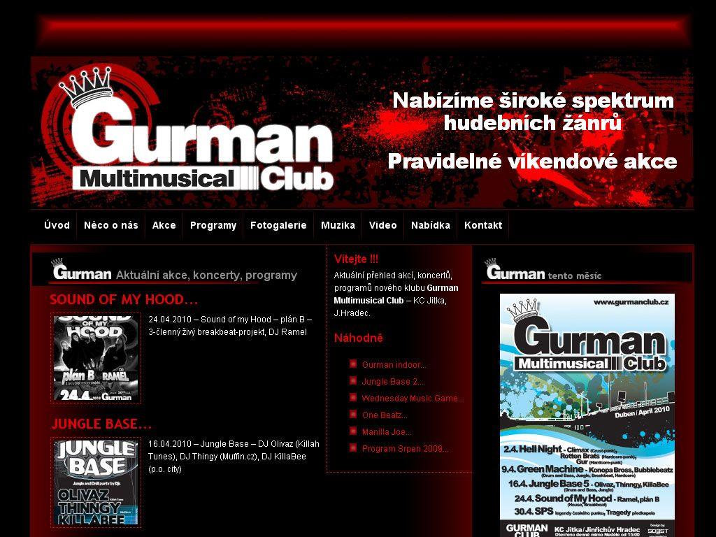 Gurman Multimusical Club – KC Jitka, J.Hradec