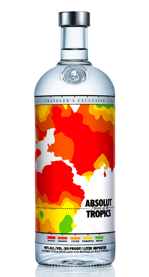 Absolut Flavour of the Tropics