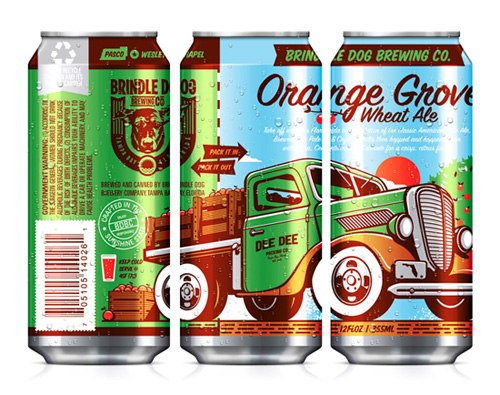 Brindle Dog Orange Grove Ale