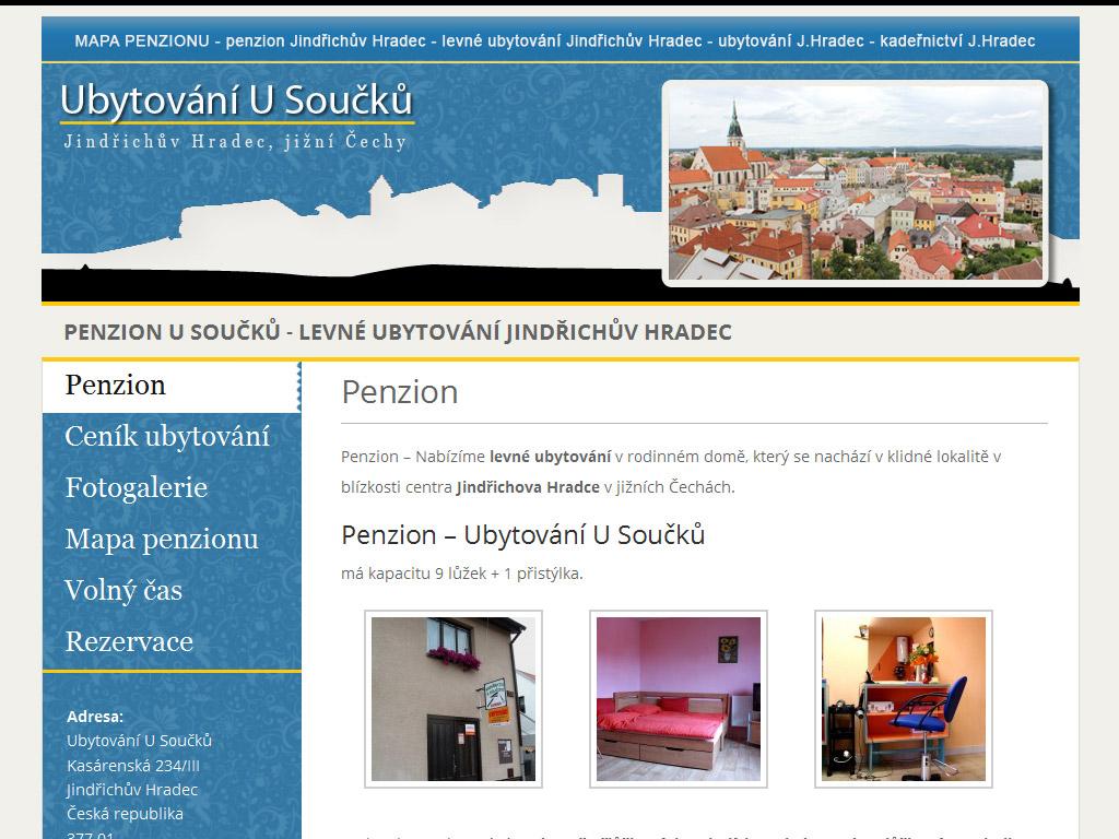 Penzion – Ubytování U Součků