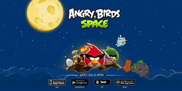 Space.Angry Birds