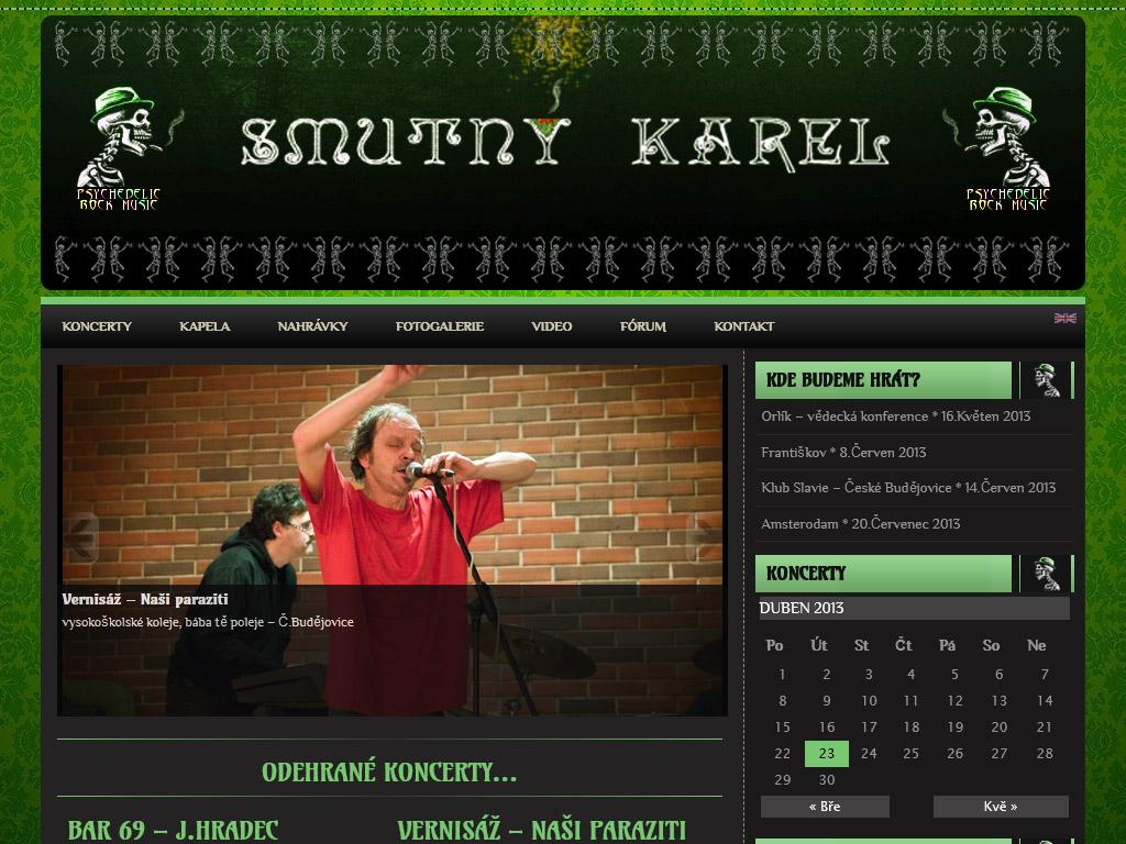 Smutný Karel – Psychedelic Rock Music