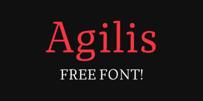 15 Beautiful High-Quality Free Fonts