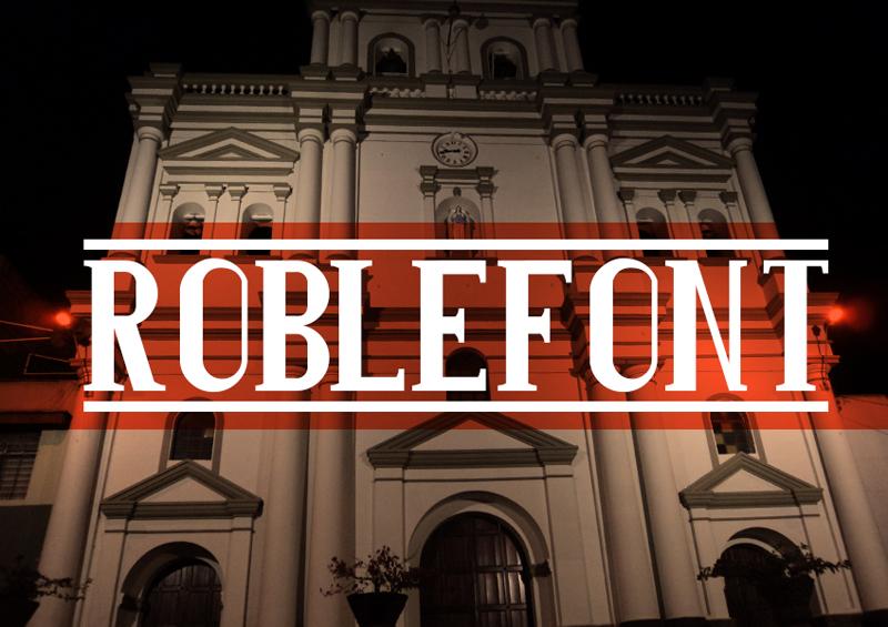 Roblefont