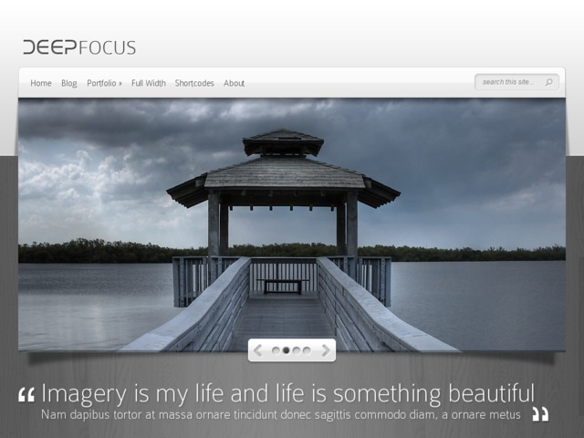 DeepFocus by Elegant Themes