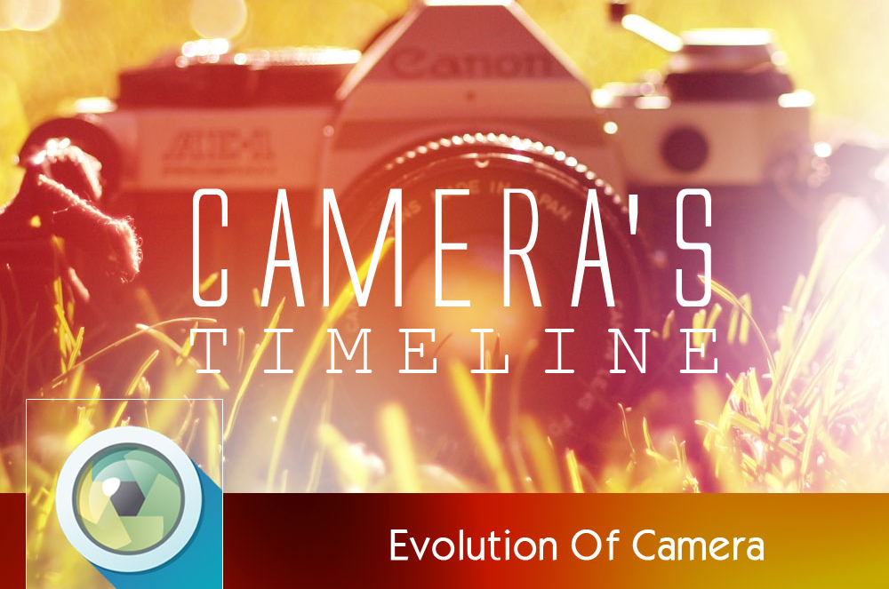 Evolution of Camera - Infographic
