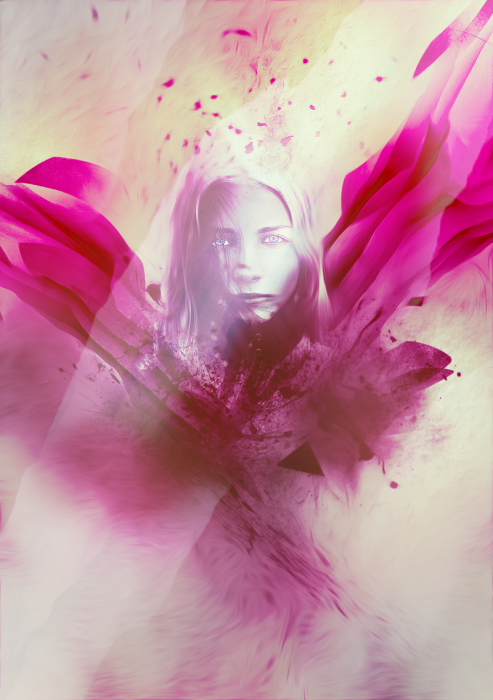 Create Unique Photo Effect with Abstract Brushes and Coloring Techniques