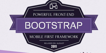 Powerful Bootstrap Frame Work – Infographic