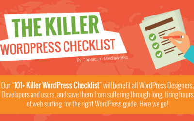The Killer WordPress Checklist Infographic