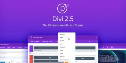 Divi 2.5 WordPress Theme Resource Toolbox