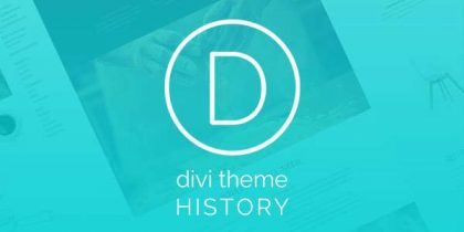 Divi Theme History – Infographic