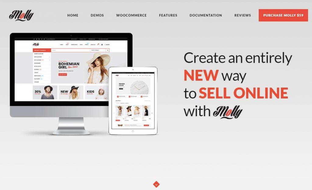 Molly - Responsive WooCommerce WordPress Theme