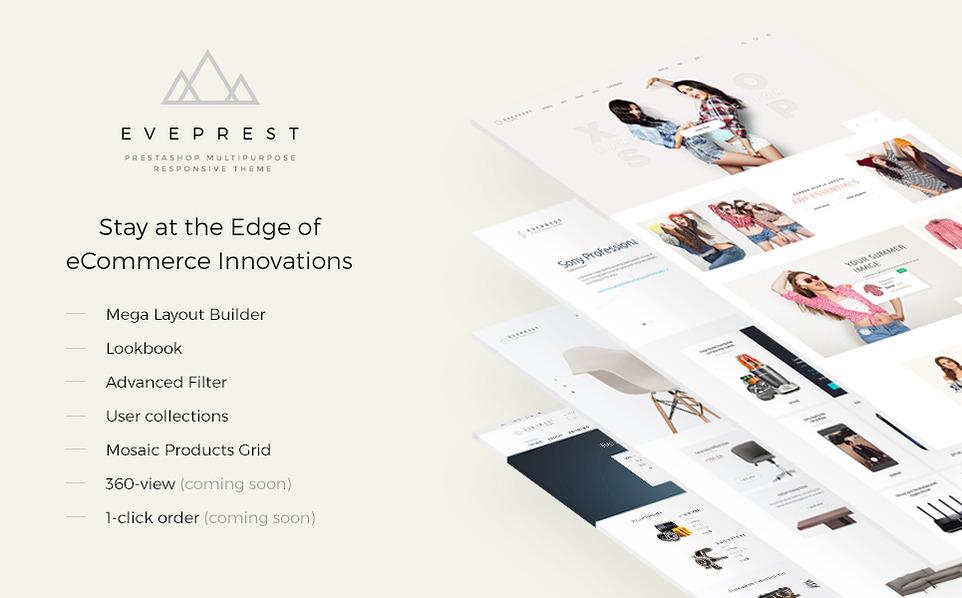 Eveprest – Multipurpose PrestaShop Theme