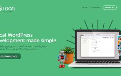 Flywheel – Local WordPress development made simple