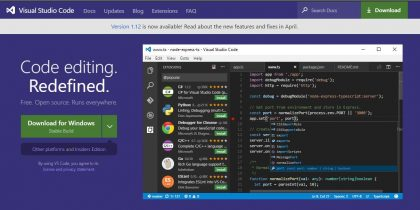 Visual Studio Code – lightweight powerful source code editor
