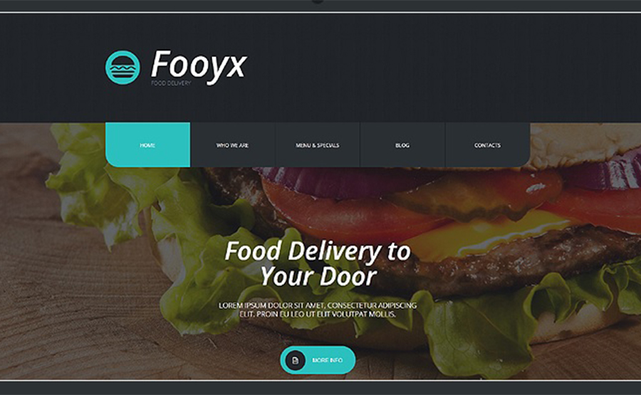 Fooyx Food Delivery WordPress Template
