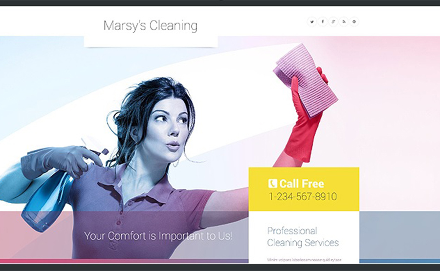 Marsy's Cleaning WordPress Template