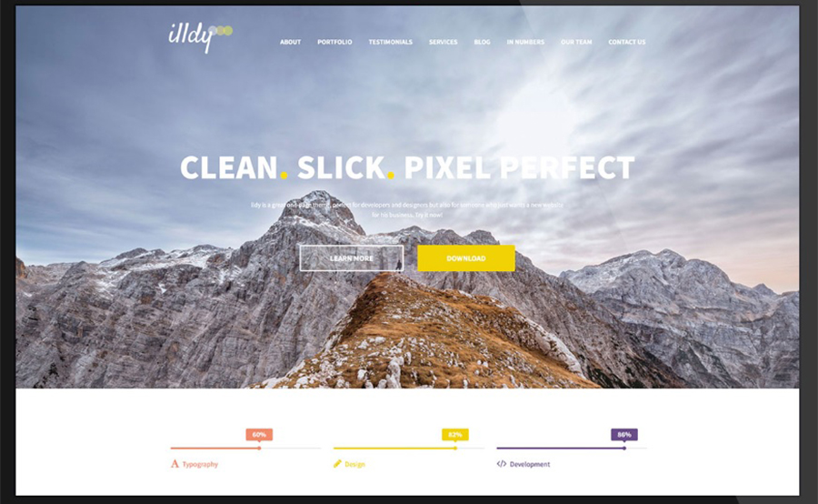 Illdy – Business Company WordPress Template