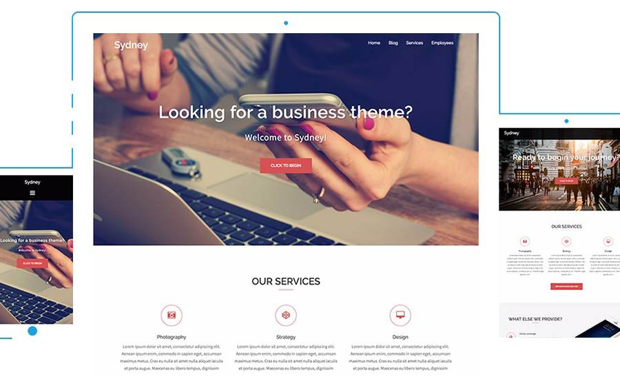 SYDNEY Business Template