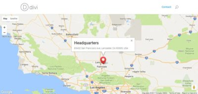 How to make Divi map module Pin marker open by default