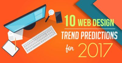 10 Web Design Trend Predictions for 2017 – Infographic