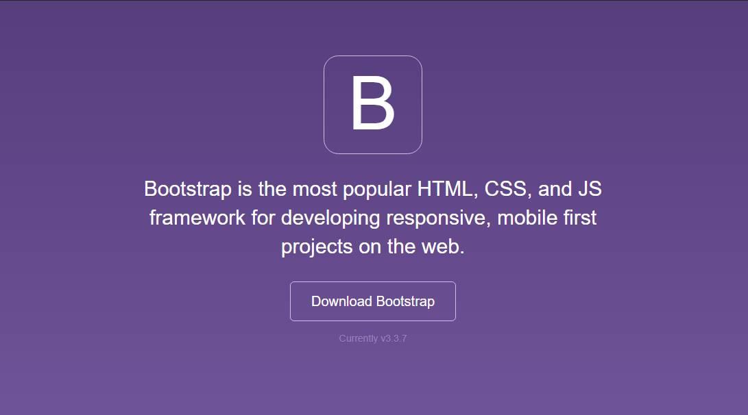 Bootstrap - Responsive front-end framework