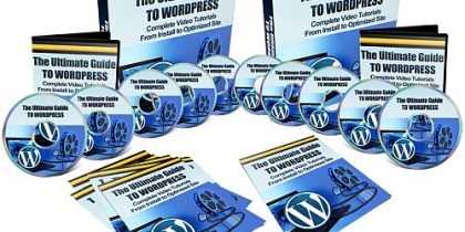 The Ultimate Video Guide to WORDPRESS