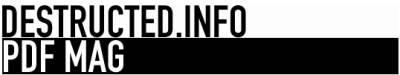 Destructed.info  – pdf design mag