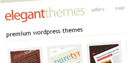 Elegant Themes – Premium WordPress Club