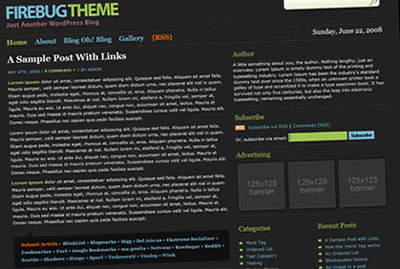 10 Free WordPress Themes from 2009