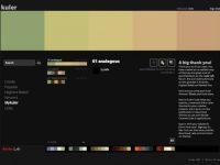 Adobe Kuler: Color wheel | Color schemes