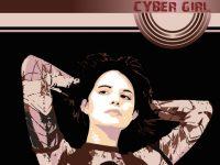 Vector Cyber Girl – Wallpaper tutorial