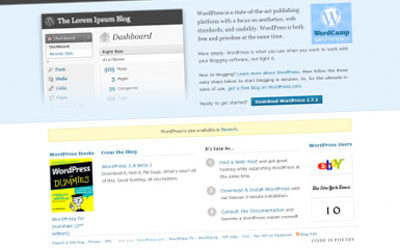 Publishing systems – WordPress