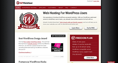 WPWebHost – WordPress Web Hosting