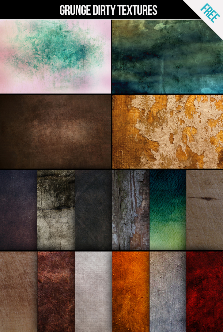 FREE Grunge dirty texture pack