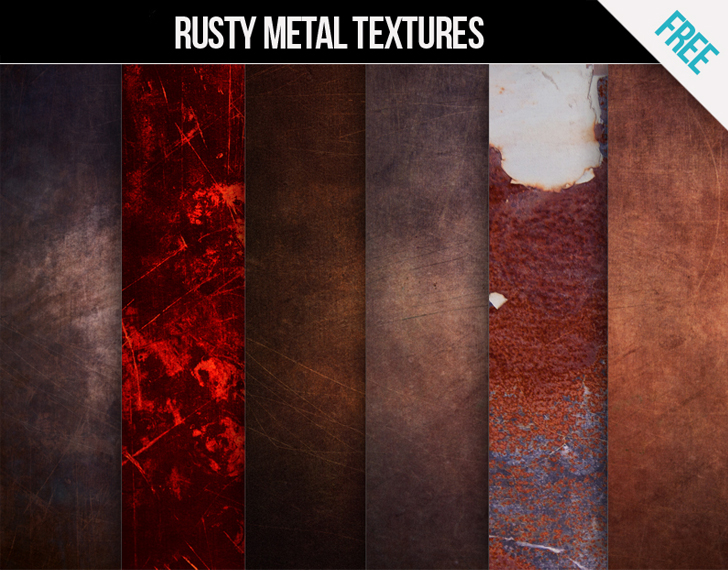 FREE Rusty metal texture pack
