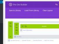 Divi Builder Plugin and OceanWP library integration