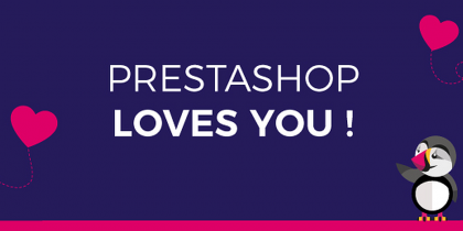 PrestaShop Loves You! – Infographic