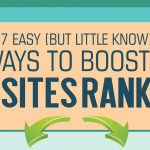 7 Ways To Boost A Websites Rankings & Traffic – Infographic