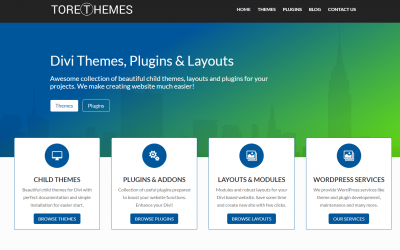 ToretThemes.com – Divi themes, plugins and layouts