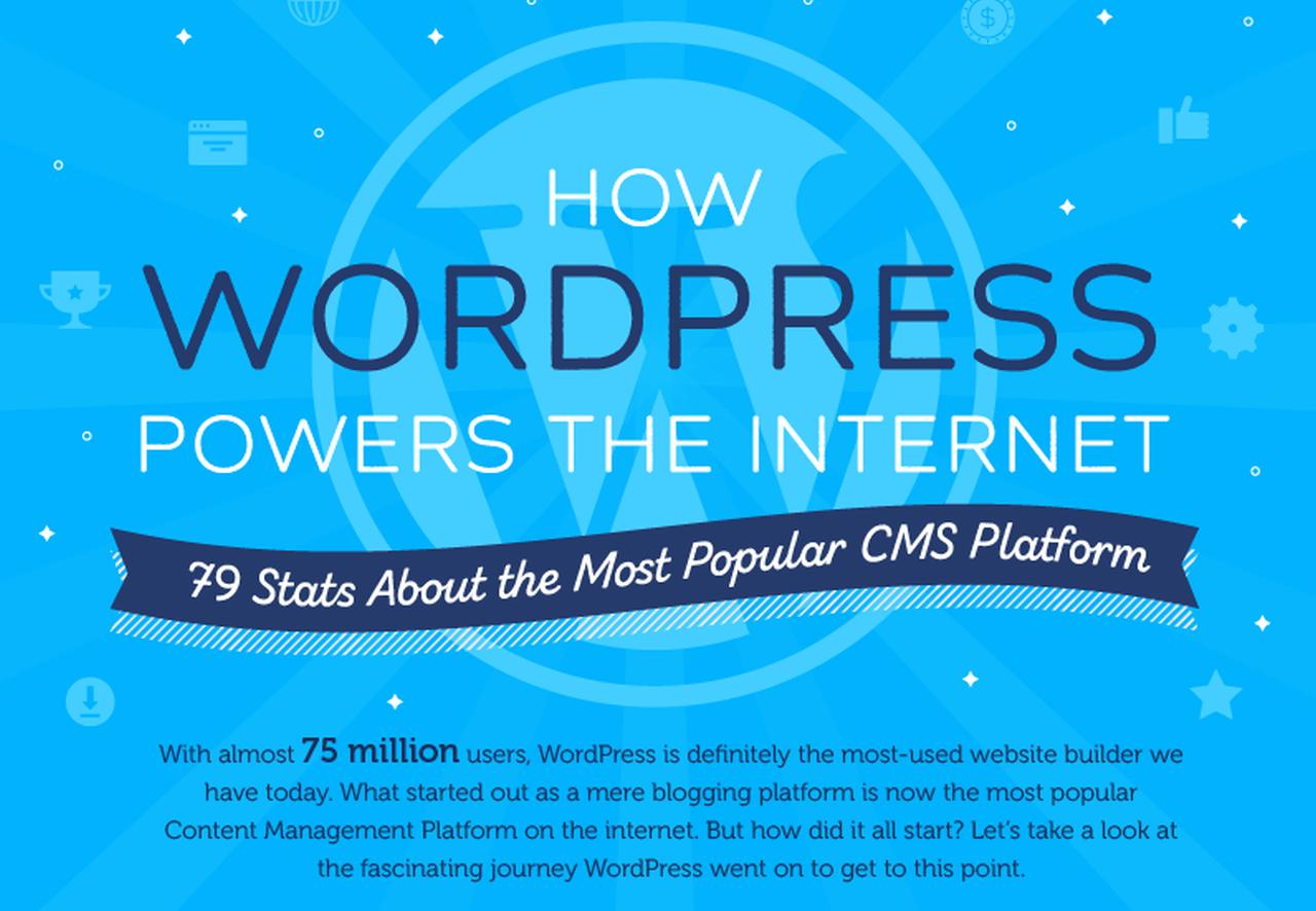 Stats that Showcase WordPress's Popularity
