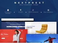 10+ Fresh Responsive PrestaShop Themes