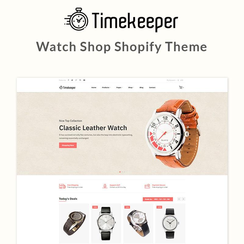 Timekeeper – Watch Shop Shopify Theme