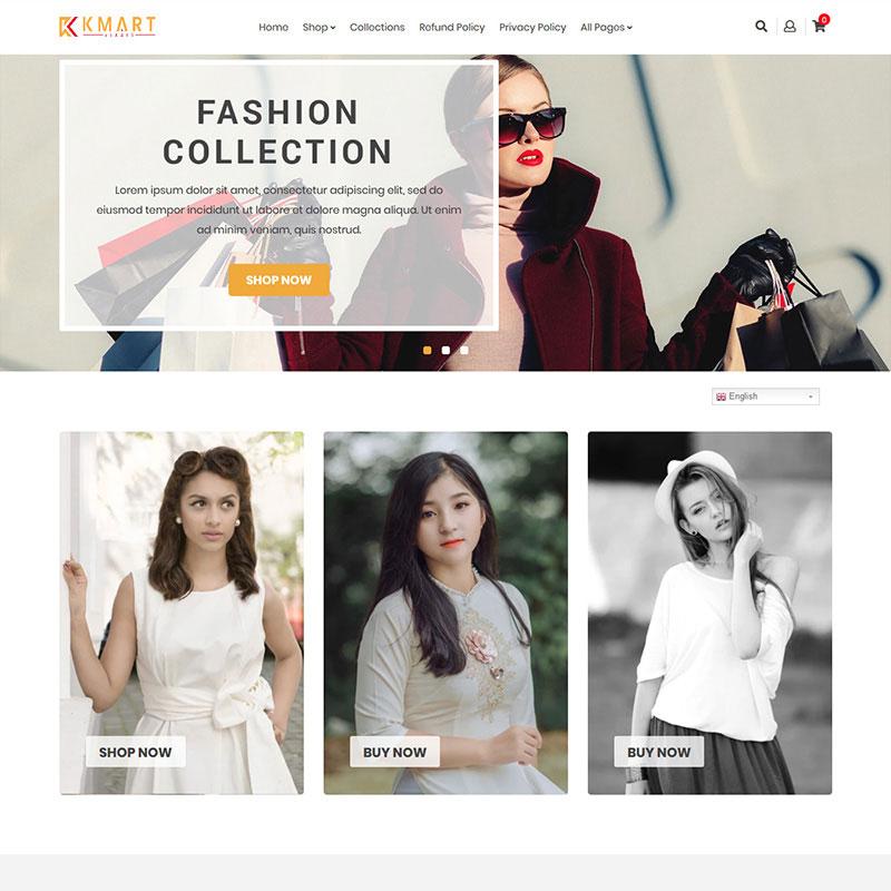 KMART – Multipurpose Shopify Theme Shopify Theme